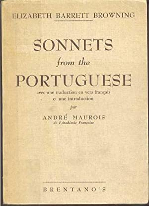 sonnets from the portuguese Examples include elizabeth barrett browning's sonnets from the portuguese and lady mary wroth's the countess of montgomery's urania, published in 1621,.