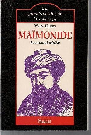 Maïmonide, le second Moïse.: DJIAN, Yves.