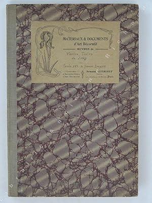 Matériaux & Documents d'Art Décoratif. Oeuvres de