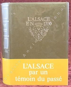 L'Alsace en 1700. Mémoire sur la province