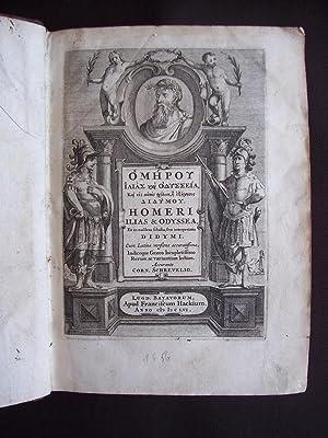 Homeri Ilias & Odyssea. Et in eafdem