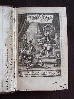 M. Annaeus Lucanus de Bello Civili