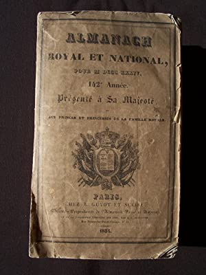 Almanach royal 1834