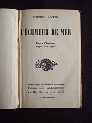 L'écumeur de mer: Fenimore Cooper