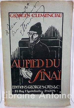 Au Pied du Sinaï.: Clemenceau (Georges).
