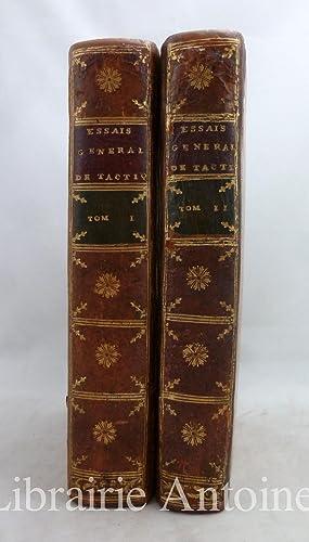 Essai général de tactique, précédé d'un discours: Guibert (Jacques-Antoine Hippolyte,