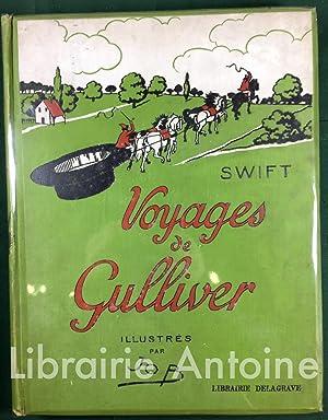 Voyages de Gulliver illustrés par Job.: SWIFT (Jonathan).