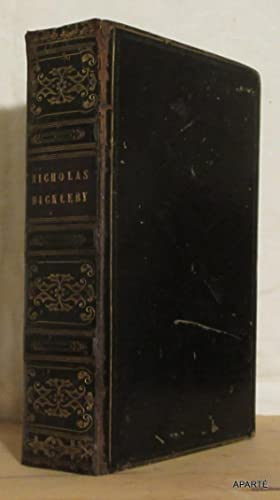 THE LIFE AND ADVENTURES OF NICHOLAS NICKLEBY.: DICKENS (Charles), PHIZ