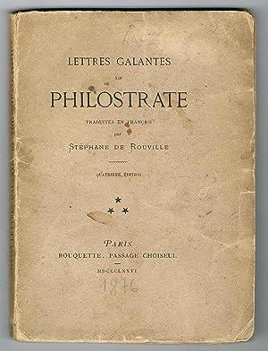 Lettres galantes de Philostrate traduites en français: PHILOSTRATE