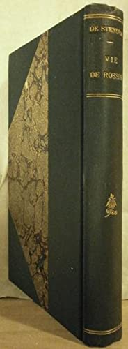 Oeuvres complètes de Stendhal. VIE de ROSSINI.: STENDHAL (Henry Beyle)