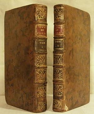 Oeuvres de théatre de M. Diderot, avec: DIDEROT Denis