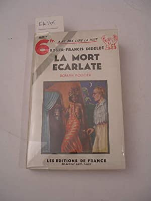 LA MORT ECARLATE , COLLECTION