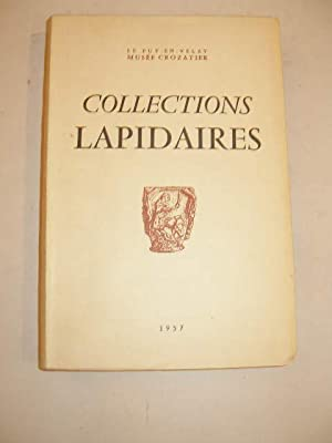 COLLECTIONS LAPIDAIRES DU MUSEE CROZATIER DU PUY-EN-VELAY , ESSAI DE CATALOGUE DES FRAGMENTS , AC...