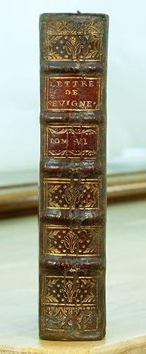 Recueil des lettres de Madame la marquise: SEVIGNE (Marie de