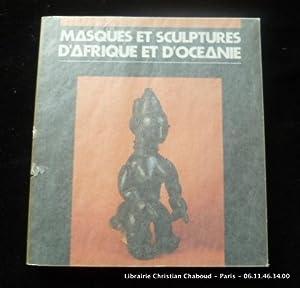 Masques et sculptures d'Afrique et d'Océanie. Collection: Cat. d'expo.