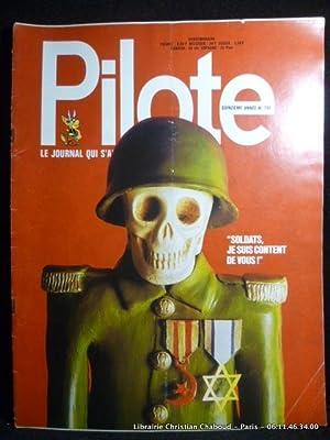 Revue Pilote n°730 Soldats, je suis content: Revue Pilote