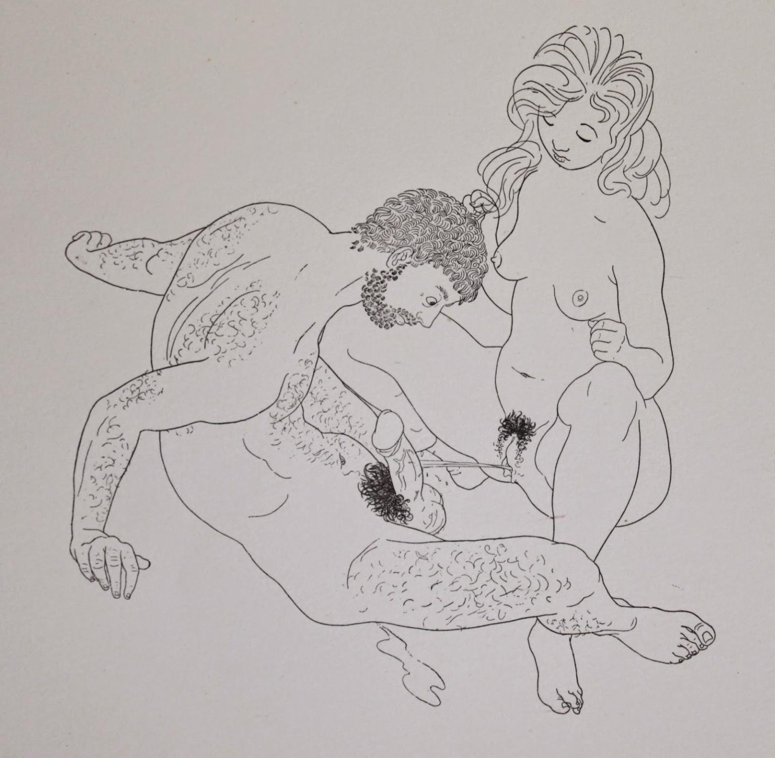 Erotica avec un groupe de brillant