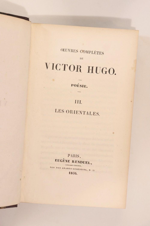 Les Orientales œuvres Complètes De Victor