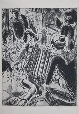 NUITS AUX BOUGES. Eaux-fortes de Dignimont.: Pierre MAC ORLAN (Pierre DUMARCHEY) - DIGNIMONT
