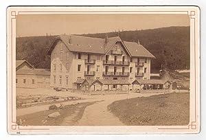 Photographie ancienne vers 1890 - L'Hôtel Defranoux: Albumen print -