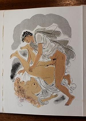 LA PORTE DE L ÂNE. Lithographies originales: STEVENARD, Louis] [SCHEM, Raoul SERRES, illustrateur]