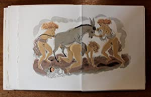 LA PORTE DE L'ÂNE. Lithographies originales: STEVENARD, Louis] [SCHEM, Raoul SERRES, ...
