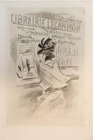 Agrandir Les Images Carte De Visite Illustre Librairie Lecampion