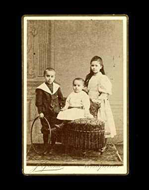 3489626c9adb7 Photographie ancienne format cabinet enfants Montpellier J.