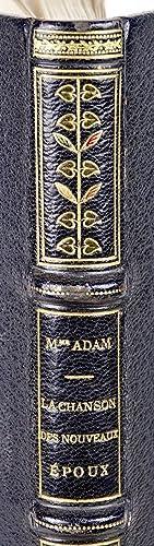 La Chanson des Nouveaux Epoux.: ADAM, [Juliette née