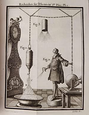 Recherches sur les causes particulières des phénomènes: NOLLET, l'Abbé [Jean-Antoine].