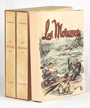 La Mousson. Aquarelles de D. Charles Fouqueray.: BROMFIELD, Louis. (Charles FOUQUERAY, ill.).