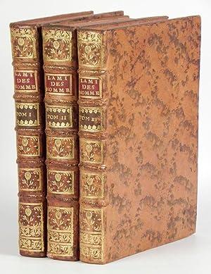 L'Ami des Hommes, ou Traité de la: MIRABEAU, Victor-Riquetti, Marquis