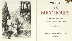 Les Bucoliques. Traduction de Xavier de Magallon,: VIRGILE. [Ker-Xavier ROUSSEL,