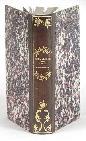Essai sur l'art de l'ingénieur en instruments: CHEVALLIER, [J.G.A.].