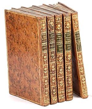 Essais historiques et politiques sur les Anglo-Américains.: HILLIARD D'AUBERTEUIL, [Michel-René].