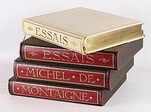 Essais.: MONTAIGNE, Michel de.