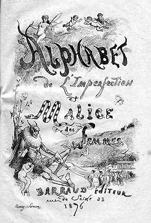 Alphabet de l'imperfection et malice des femmes.: OLIVIER (Jacques)