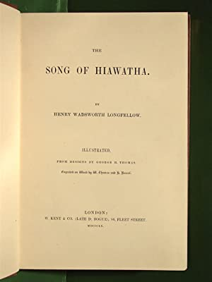 The song of Hiawatha. Illustrated, from designs by George H. Thomas.