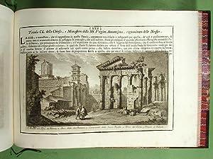 Delle magnificenze di Roma antica e moderna.: VASI (Giuseppe)