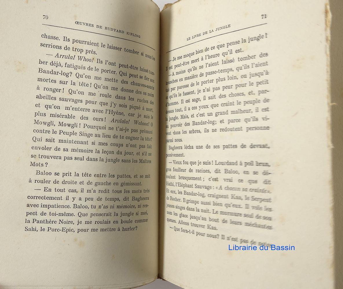 Oeuvres De Rudyard Kipling Le Livre De La