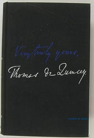 Les confessions d'un opiomane anglais De l'assassinat: Thomas de Quincey