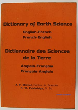 Dictionary of Earth Science Dictionnaire de la Terre
