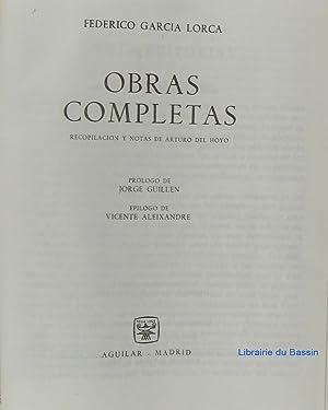 Obras completas: Federico Garcia Lorca