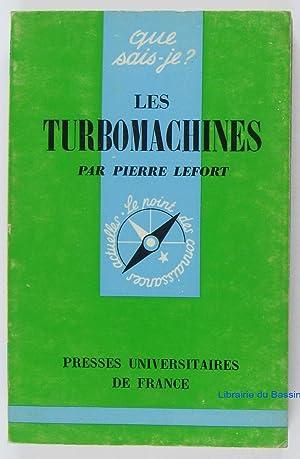 Les turbomachines: Pierre Lefort