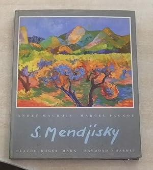 LES PEINTURES DE SERGE MENDJISKY: André MAUROIS Marcel