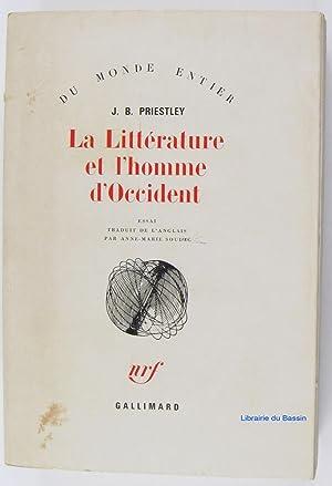 La Littérature et l'homme d'Occident: J. B. Priestley