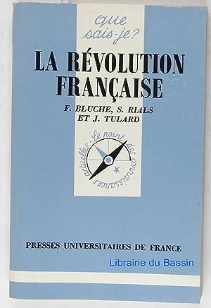 La Révolution française: Frédéric Bluche Stéphane