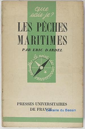 Les pêches maritimes: Eric Dardel