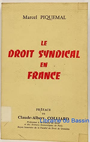 Le droit syndical en France