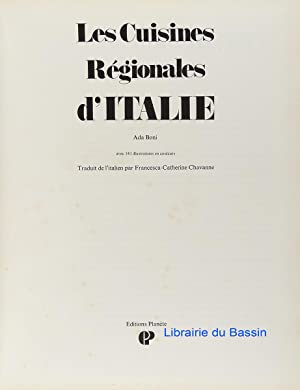 Les Cuisines Régionales d'Italie: Ada Boni